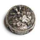 Silverplated Cap OAK LEAVES 133