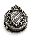 Silverplated Cap BAVARIAN FLAG 171