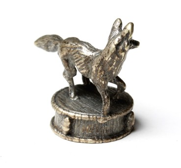 Silverplated mounting FOX