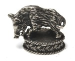 Silverplated mounting WILD BOAR